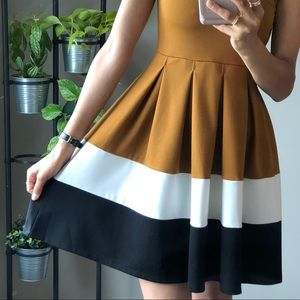 Dresses & Skirts - Twik Simons Color Block Sleeveless Dress